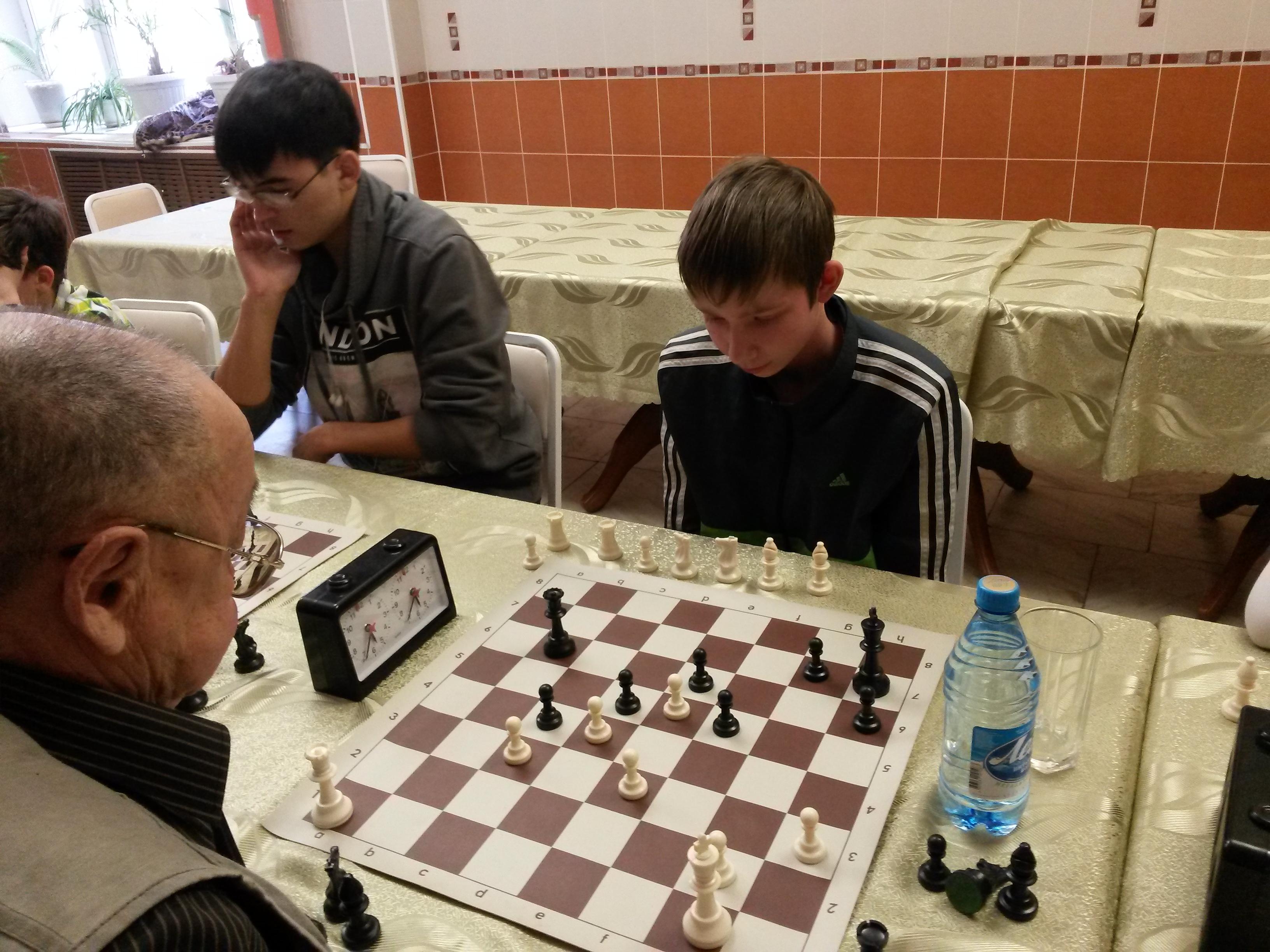 Андрей Самбурский(слева) и Евгений Кинякин