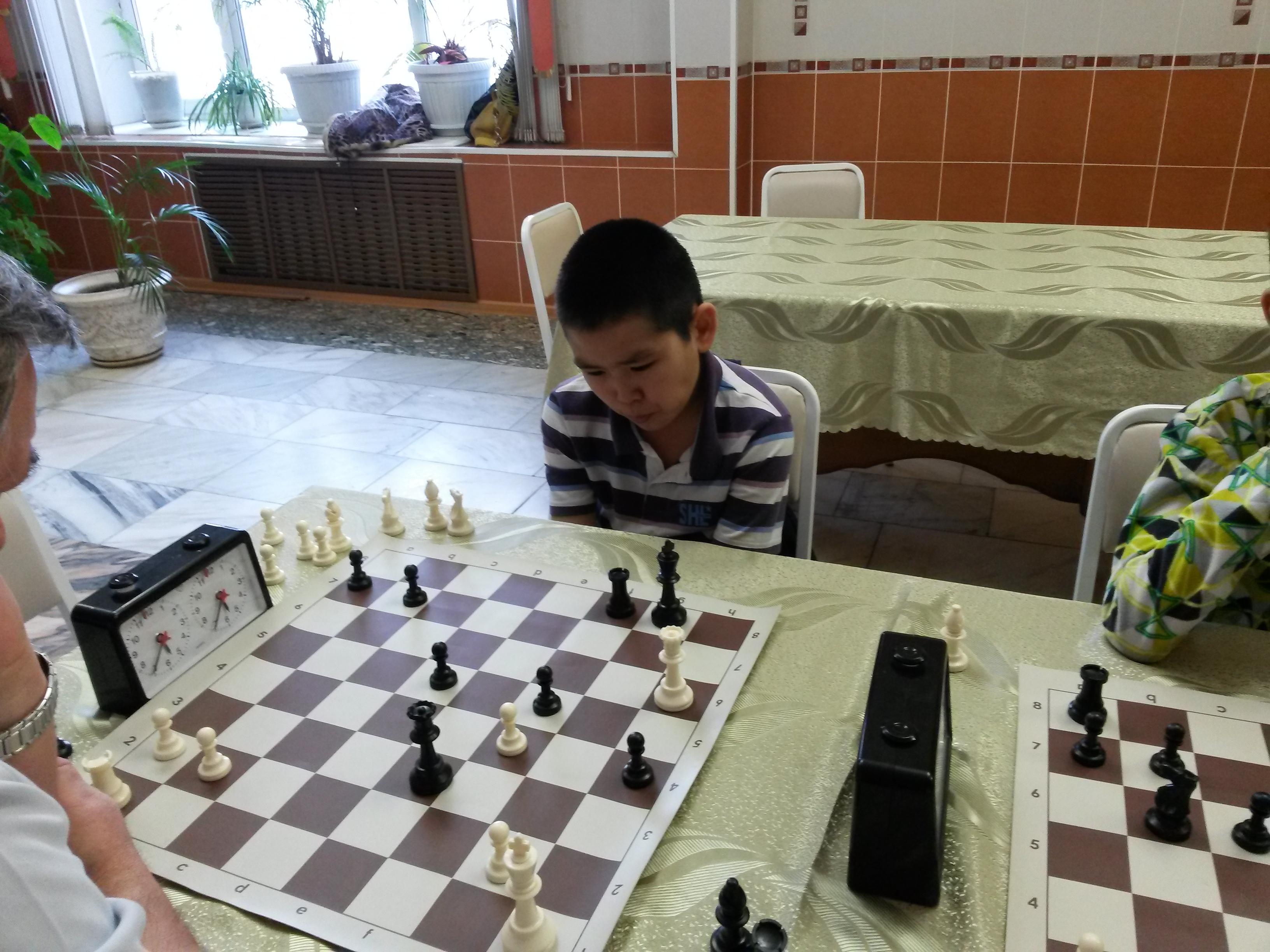 Один из лучших шахматистов среди юношей Хакасии