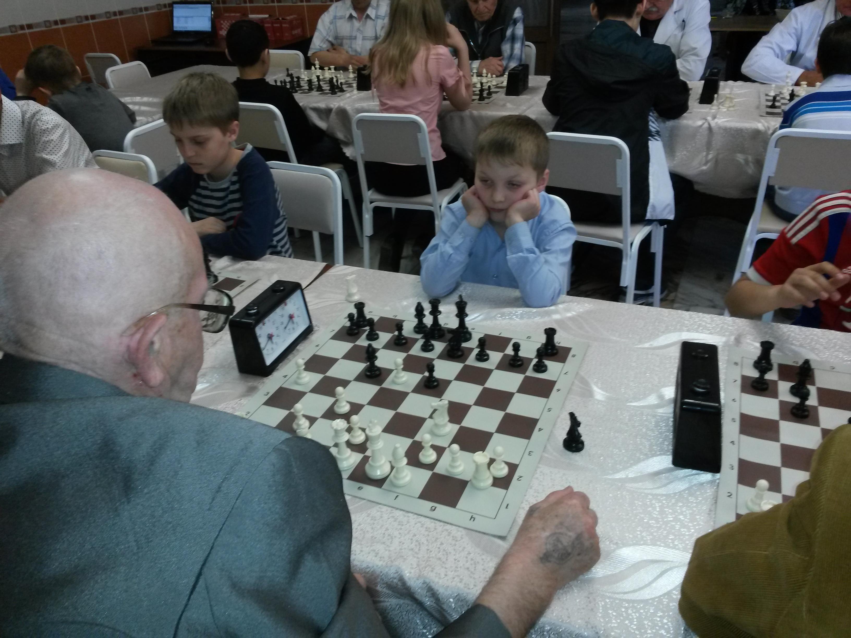 Самый юный участник матча - Лев Ильин