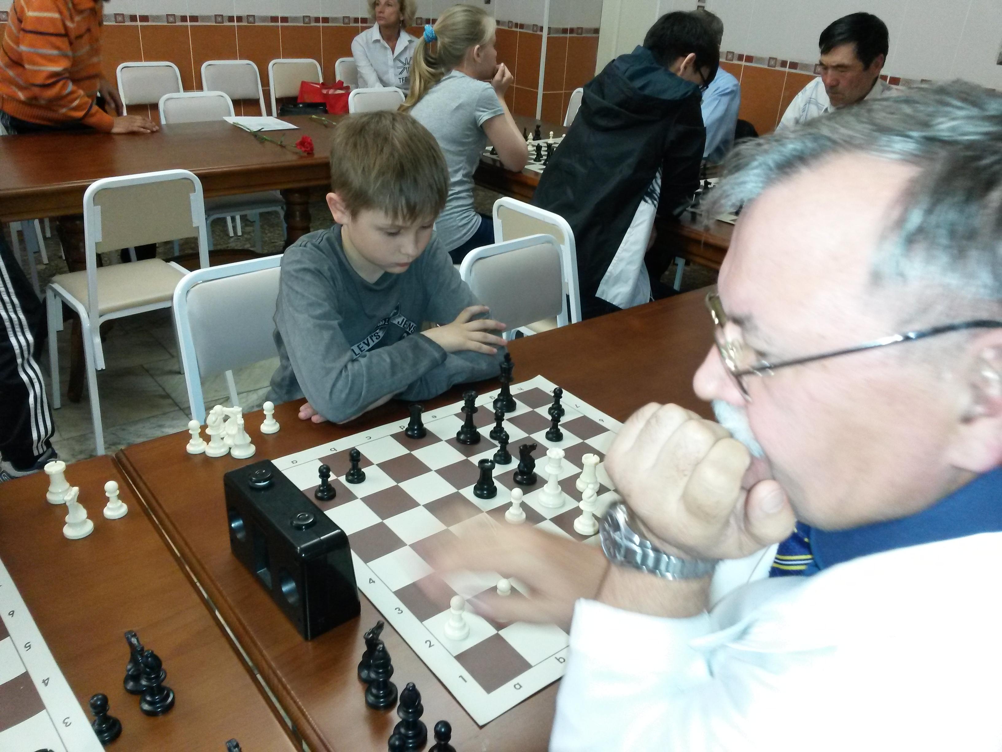 Владимир Кобылянский - один из главных шахматных надежд Хакасии.