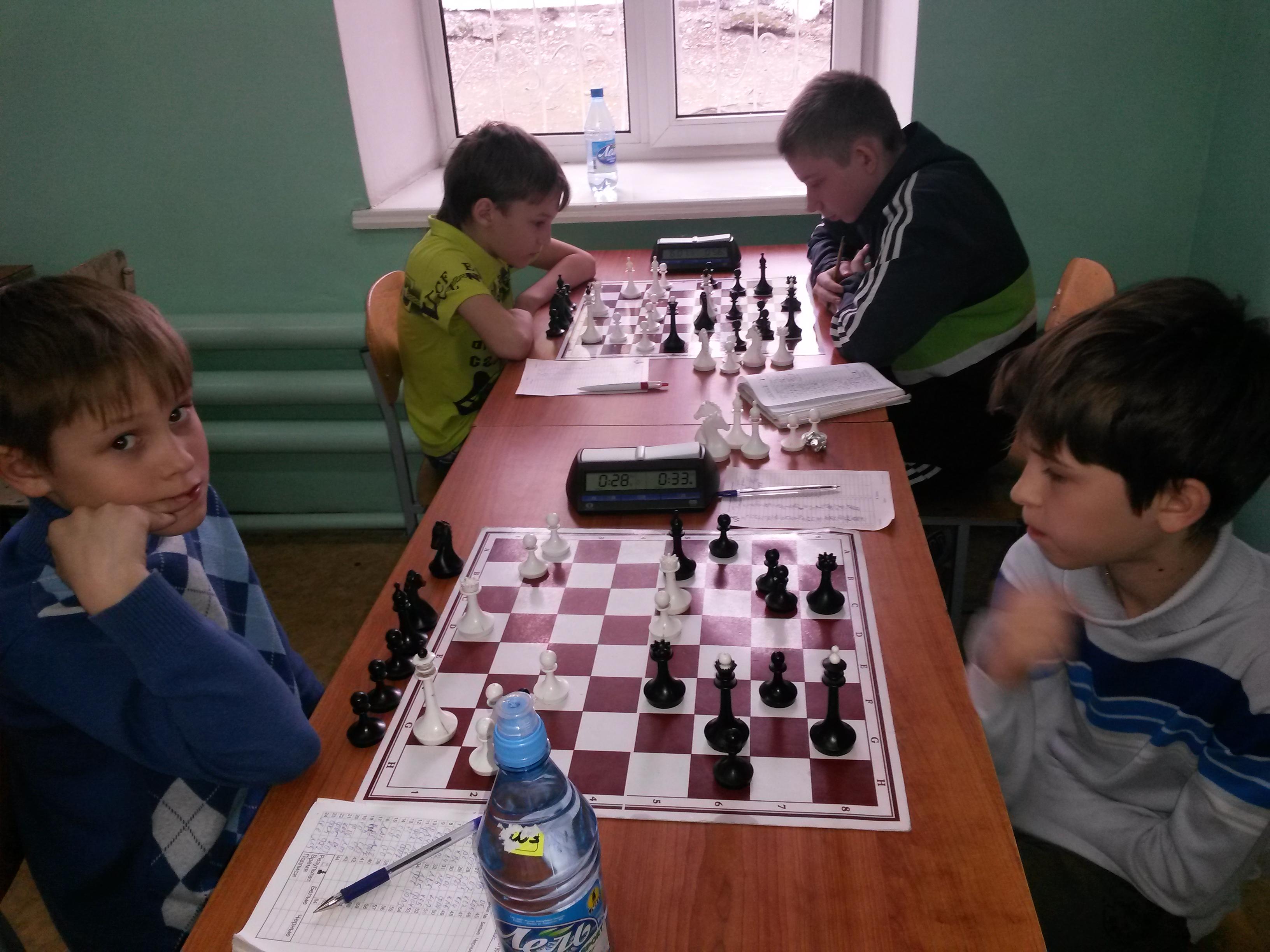 Для настоящих шахматистов нет выходных!