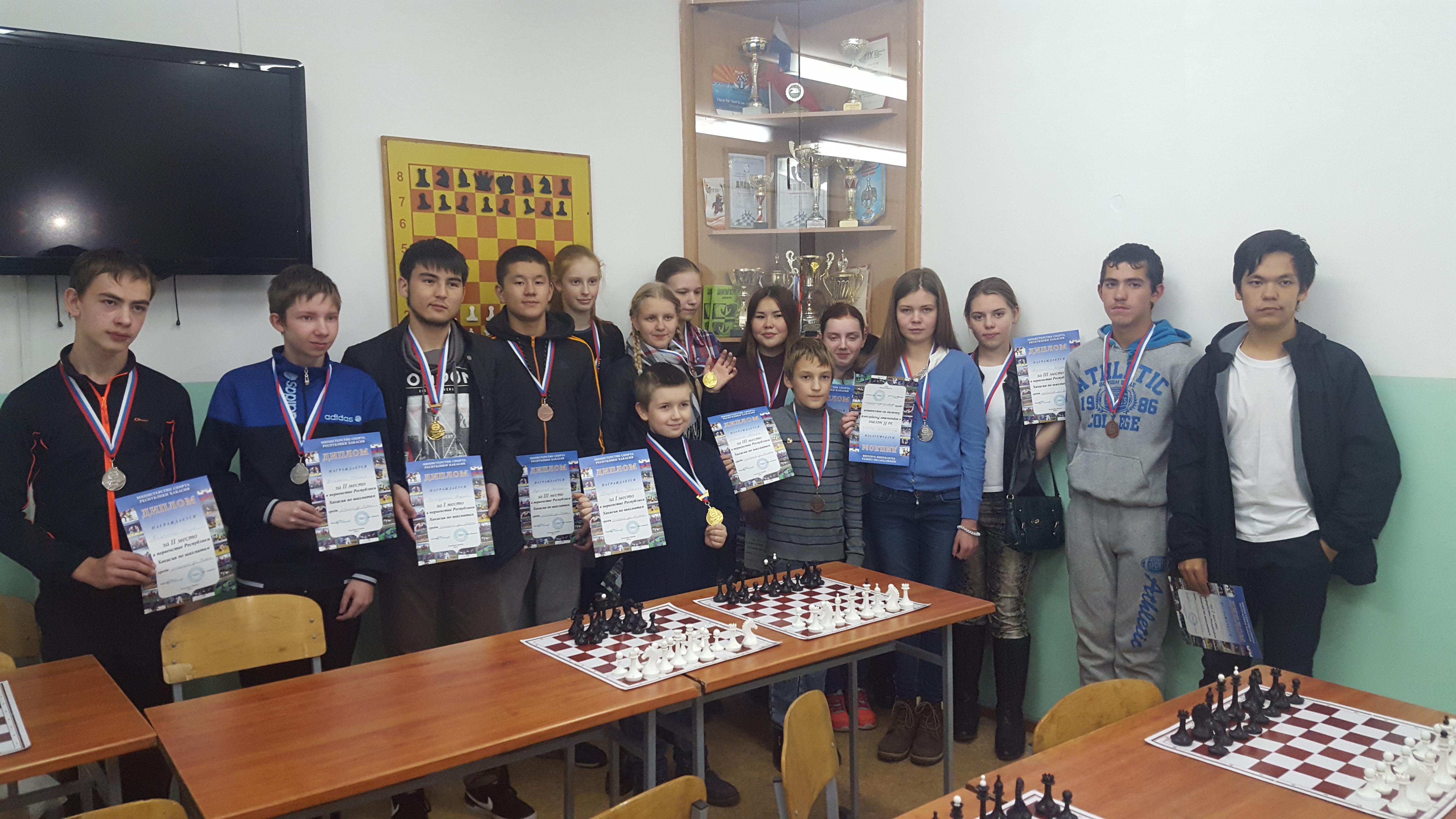 Лучшие юноши и девушки в Хакасии.